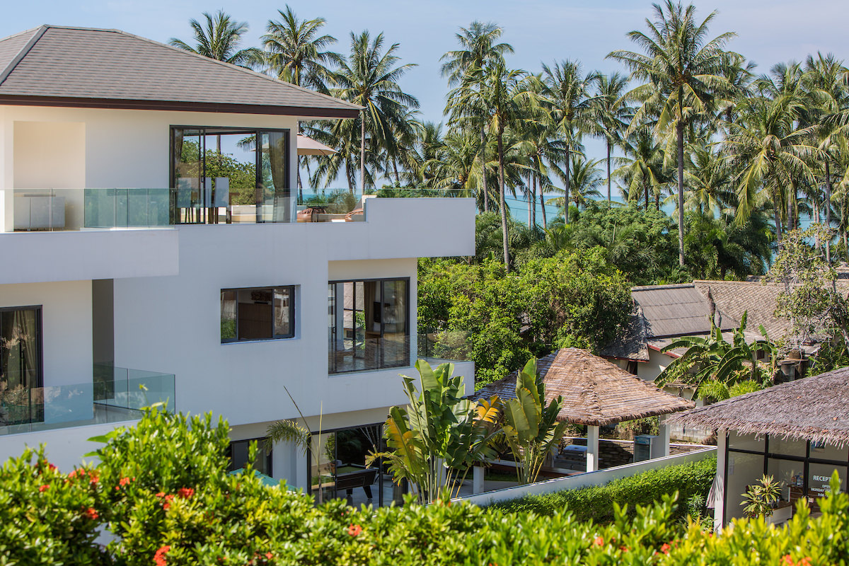 Rent villa in Thailand