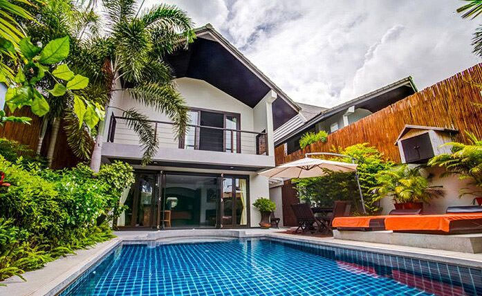 Rent villa in Samui with poo